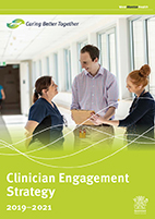 Clinician engagement strategy cover thumbnail