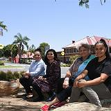 West Moreton Health's Indigenous Hospital Liaison Service team members Cassandra Tratt, Sarah Fraser and Robyn Cannedy with program manager Lynda Maybanks.